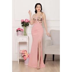 Đầm Dạ Hội Đính Đá Gương - YB2022
