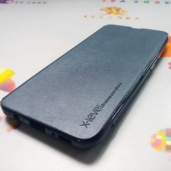 [TẶNG KÍNH CƯỜNG LỰC FULL MÀN] Bao da Samsung A7 2018 SM-A750 nắp gập 2 mặt bảo vệ điện thoại - Ốp lưng 2 mặt Samsung A7 2018  chất liệu da cao cấp - Bao Fib - Xlevel