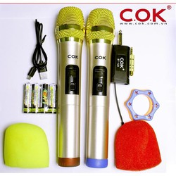 Micro không dây COK 123