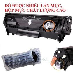 COMBO 5 Hộp Mực, Cartridge 12A - Dùng Cho Máy In Canon 2900, HP 1020 ,3050, 3055, 1319,1010 ,1018 - ĐƯỢC XEM HÀNG