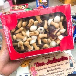 Bánh nấm Socola Nga xách tay 300g