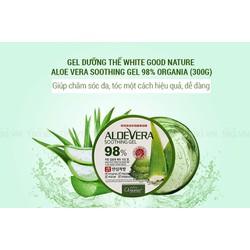Gel dưỡng đa chức năng Organia White Good Nature Aloe Vera Soothing Gel 300g