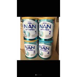 Mẫu mới- Sữa Nan Nga đủ số loại 800g