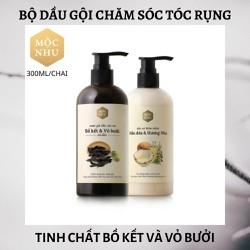 Bộ dầu gội chăm sóc tóc rụng - MỘC NHU