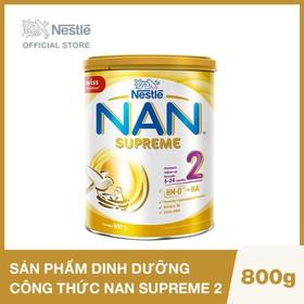 Sản phẩm dinh dưỡng công thức NAN SUPREME 2 - Lon 800g - 12336761
