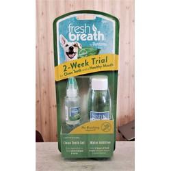 Bộ sản phẩm thiên nhiên chăm sóc răng miệng chó mèo trải nghiệm 2 tuần
