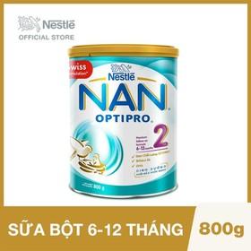 Sữa Bột Nestle NAN Optipro 2 - Lon 800g - 12310025