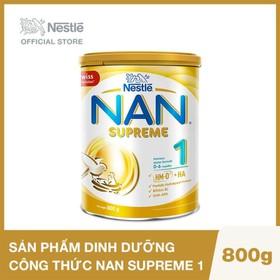 Sản phẩm dinh dưỡng công thức Nestlé NAN SUPREME 1 lon 800g - NAN023370