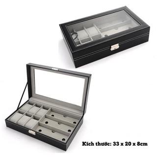 hộp đựng đồng hồ cơ - hộp đựng đồng hồ 1tầng, thumbnail