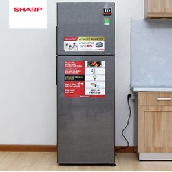 Tủ lạnh Sharp Inverter SJ-X281E-DS 271 lít