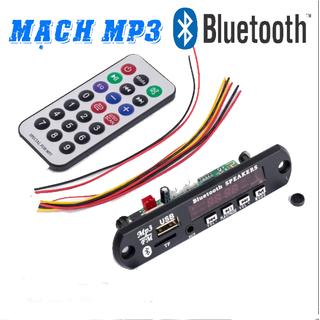 Mạch Giải Mã Âm Thanh Mp3 Bluetooth 12v - mp3 blt thumbnail