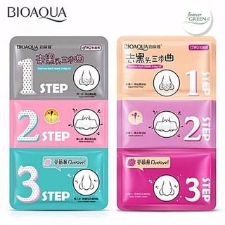Set lột mụn đầu đen 3 bước Bioaqua MC103 - MC103 thumbnail