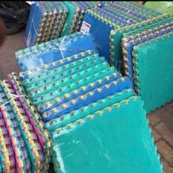 Thảm Xốp Lót Sàn Nhà Bộ 6 Miếng 60x60cm - Thảm xốp màu ghép nền trải sàn