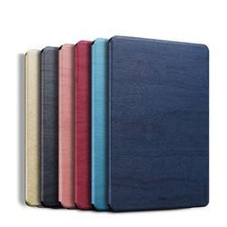 Bao da vân gỗ cao cấp - Smart cover dành cho iPad 10.2 Inch