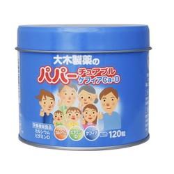 Kẹo Biếng Ăn Cho Bé Vitamin D Canxi 120 Viên