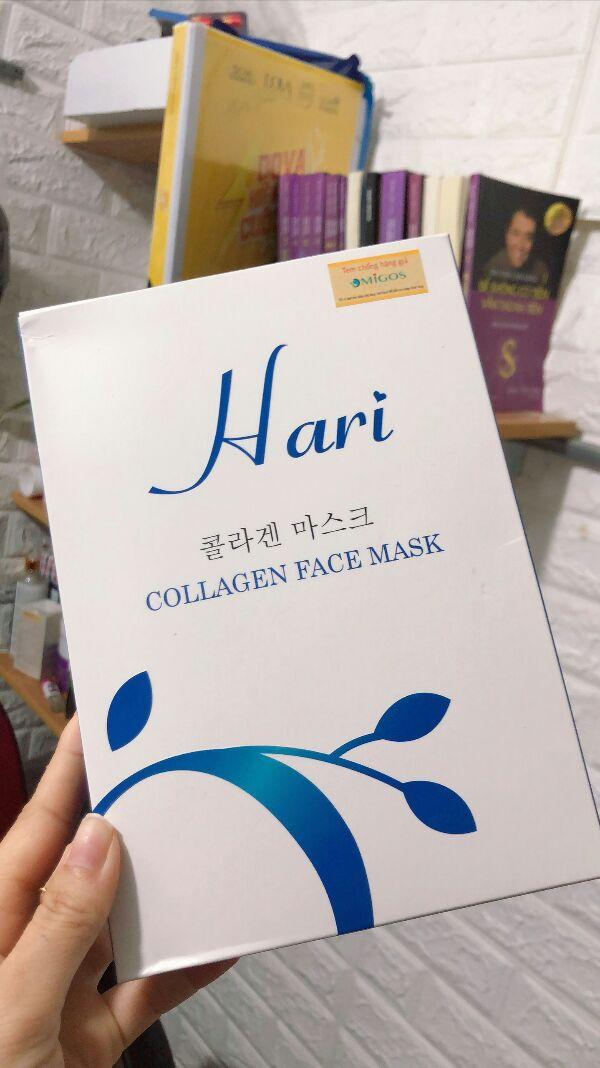 Mặt nạ collagen Hari cung cấp gấp 5 lần lượng collagen so với nạ khác