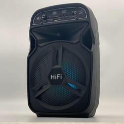 Loa bluetooth hỗ trợ nhiều chức năng như FM kết nối thẻ nhớ TF cổng USB dây AUX tặng kèm Micro Karaoke Remote điều khiển âm thanh HIFI nhỏ gọn dễ mang thích hợp cho cả máy Android và IOS - BT-06