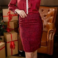Chân váy dạ tweed SPEARL