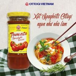 Xốt Spaghetti Ottogi trộn bún mì nưa siêu ngon như mì ý