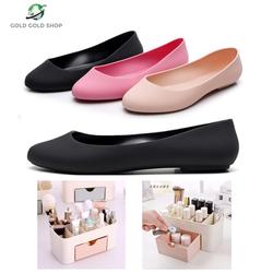 Giày búp bê công chúa + Hộp đựng mỹ phẩm