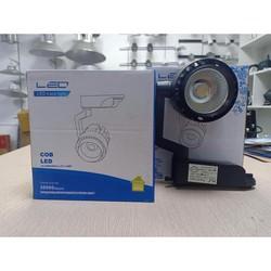 Combo 3 đèn rọi ray 20W  1 ray 1 mét vỏ đen TX200 cao cấp - chất nhất năm 2020 - Được Kiểm Hàng - Được Kiểm Hàng