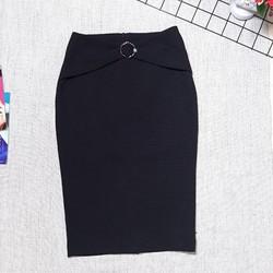 Chân váy bút chì công sở móc tròn nơ ngọc Cúc Fashion cv56 - Được Kiểm Hàng - Được Kiểm Hàng - Được Kiểm Hàng