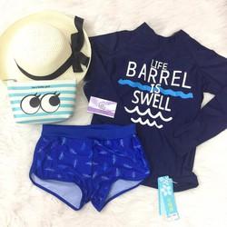 Bikini dài tay 2 mảnh màu xanh chữ Barrel | Bikini dài tay 2 mảnh màu xanh chữ Barrel | Bikini dài tay 2 mảnh màu xanh chữ Barrel | Bikini dài tay 2 mảnh màu xanh chữ Barrel | Bikini dài tay 2 mảnh màu xanh chữ Barrel | Bikini dài tay 2 mảnh màu xanh