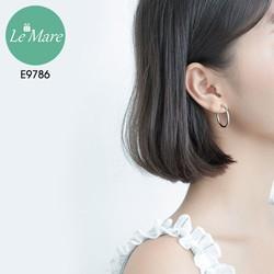 Khuyên tai bạc E9786 - Le'mare Jewelry - chất nhất năm 2020 - kiểm hàng trước khi thanh toán - hàng chuẩn không cần chỉnh