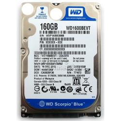 Ổ cứng laptop 160G Sata có Win7, nhiều hiệu, chất lượng tốt giá bèo