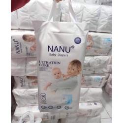 bỉm NANU baby xuất nhật combo 100 miêng