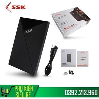 Hộp Đựng Ổ Cứng HDD BOX SATA 2.5 USB 3.0 SSK SHE 088 - SHE 088 thumbnail