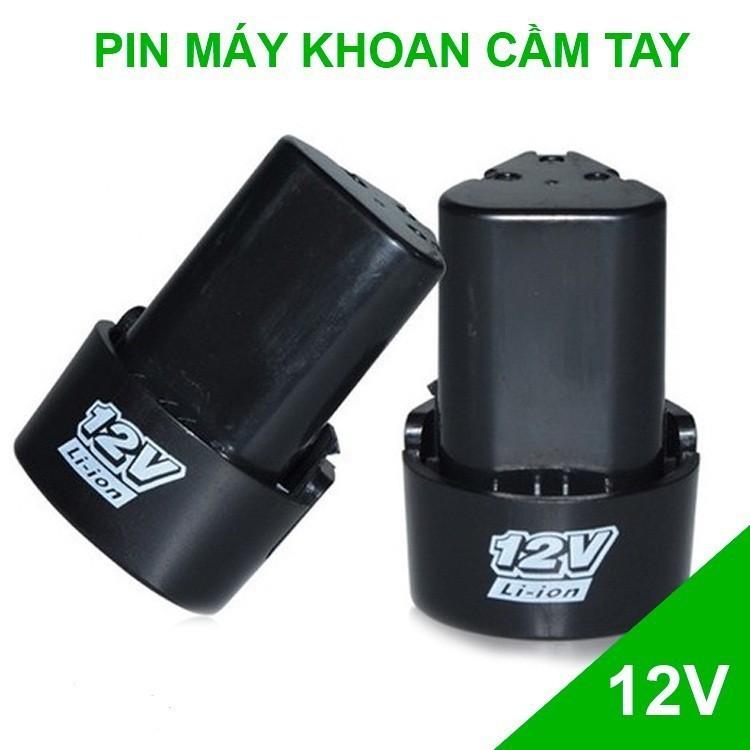 Pin 12V Dùng Cho Máy Khoan    Pin 8