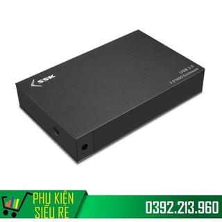 Hộp đựng ổ cứng gắn ngoài HDD Box 3.0 SSK HE-G3000 3.5 Sata - SSK HE-G3000 thumbnail