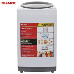 Máy giặt Sharp 7.8 kg U78GV-H