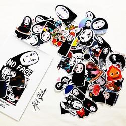 Sticker NO FACE nhựa PVC không thấm nước, dán nón bảo hiểm, laptop, điện thoại, Vali, xe, …
