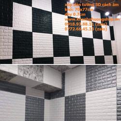 xốp dán tường 3D - xốp dán tường