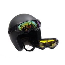 XẢ KHO 3 NGÀY Combo Mũ bảo hiểm 3 4 Kính chống tia UV400 Nhựa ABS Độ Bền Cao Kính Chống Tia UV Tốt BH 6 Tháng