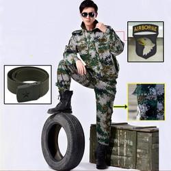 Bộ Quần Áo Túi Hộp Lính MỸ US ARMY Rằn Ri