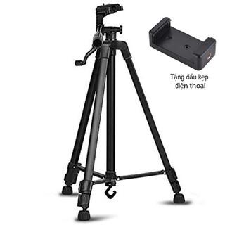 Chân giá đỡ máy ảnh điện thoại Tripod 3366 cao 150cm - Tripod 3366 cao 150cm thumbnail
