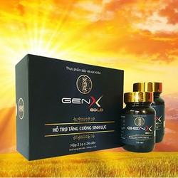 Combo 2 hộp Gen X Gold - Hỗ trợ sức khoẻ nam giới