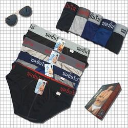Bộ 10 quần lót nam cao cấp lưng thái QTH2001, vải cotton mềm mại, co giãn tốt, lưng cao 4cm, siêu bền đẹp, hàng chính hãng CITYMEN - Nhiều màu
