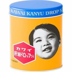 Kẹo Dầu Cá Kawai Kanyu Drop S 300 Viên Nhật Bản