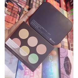 Che Khuyết Điểm BH Cosmetic 6 Color Light