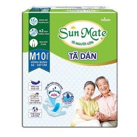 Combo 2 gói tã dán sunmate size M10 _ tã dán người lớn Sunmate - SMDM102