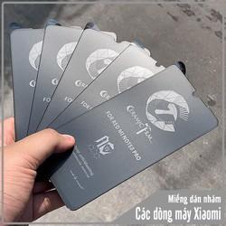 Miếng dán Nhám cho các dòng máy Redmi Note 9S -Note 9Pro- Mi 9T -Redmi K20-Redmi K30 -Redmi Note 8 Pro -Redmi Note 7 Pro -Redmi 8 -Redmi 7