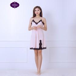 Váy ngủ viền ren sang trọng
