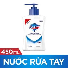 Nước Rửa Tay Safeguard Pure White Trắng Tinh Khiết 450ml - 4902430746618