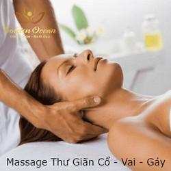 [Evoucher_Quận Phú Nhuận_HCM] Massage Thư Giãn Cổ Vai Gáy 60 Phút Tại Golden Ocean Spa