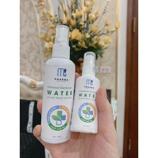 2 chai nước xịt rửa tay khô - Nước rửa tay khô - combo 2 chai rửa tay khô thumbnail
