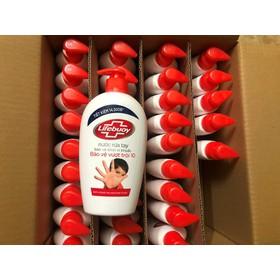 Nước rửa tay Lifebuoy Bảo vệ vượt trội 500G - 3309